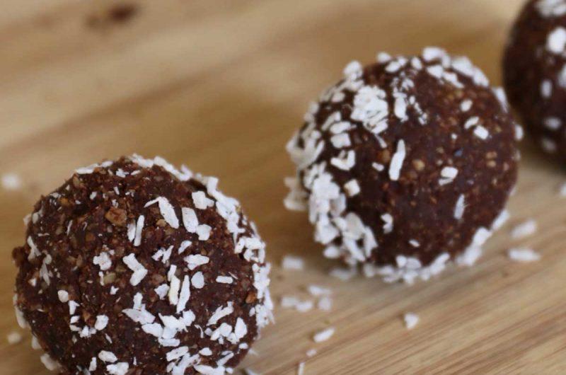No-bake energy balls