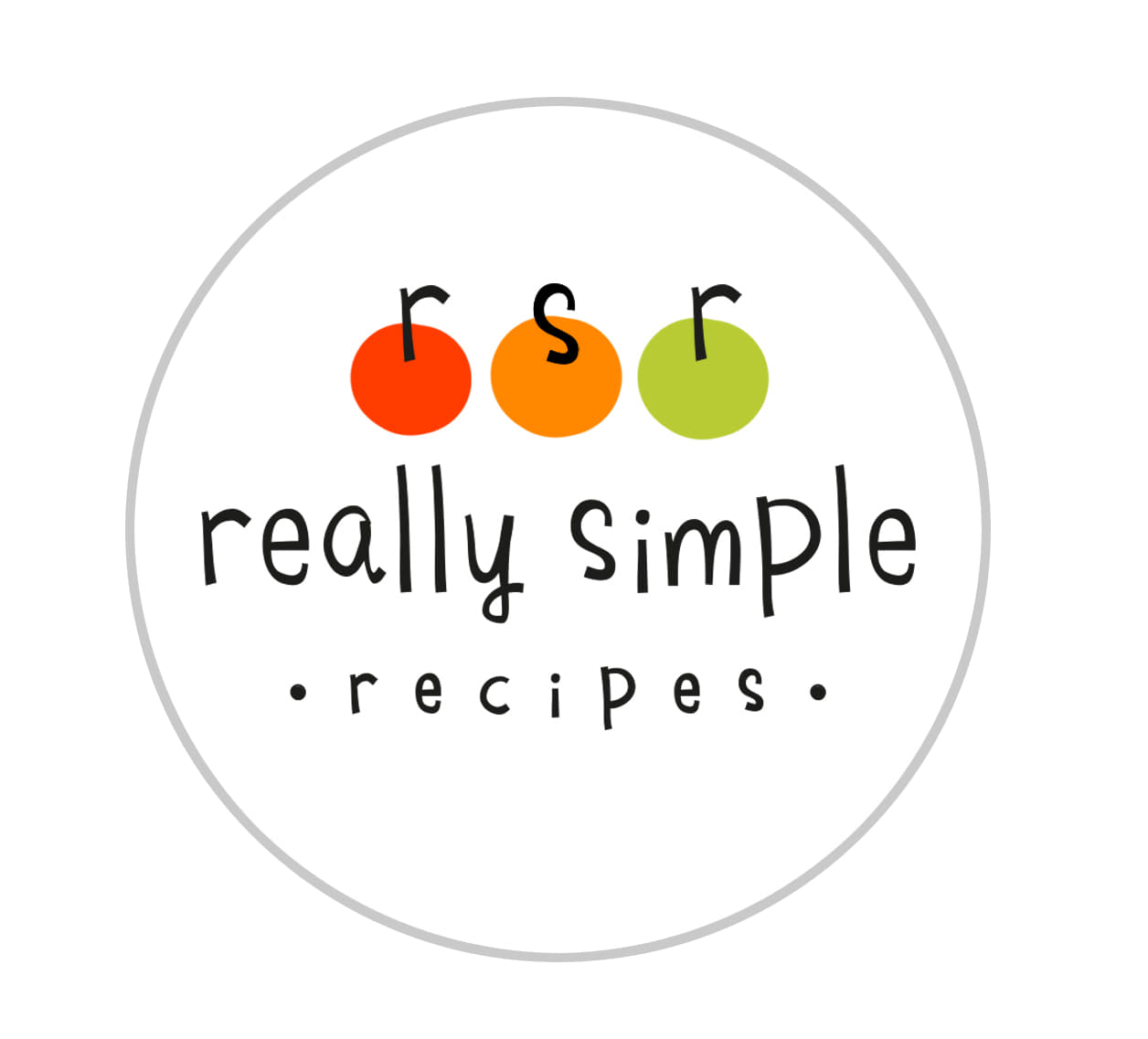 Welcome to Really Simple Recipes