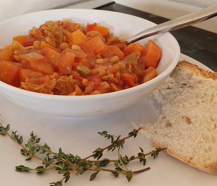Healthy Tuscan Bean Soup