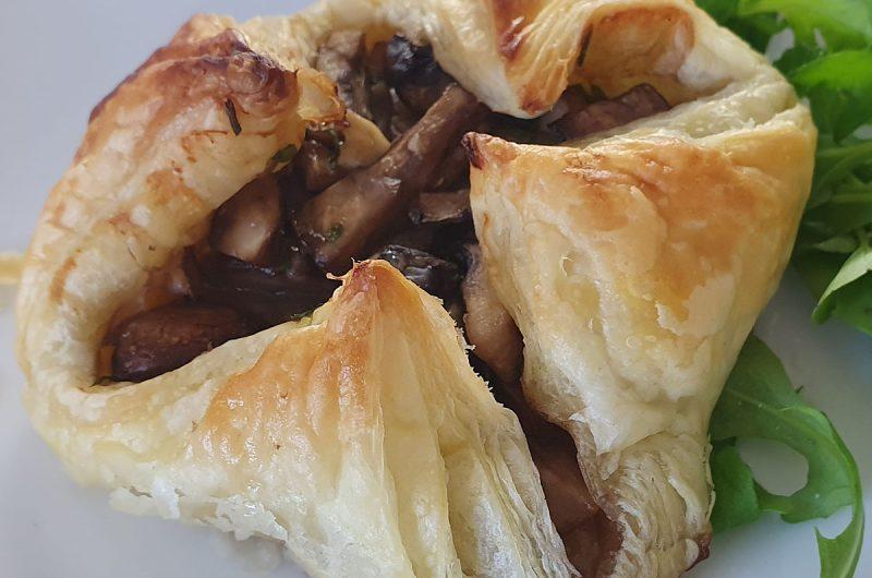 Garlic Mushroom Parcels