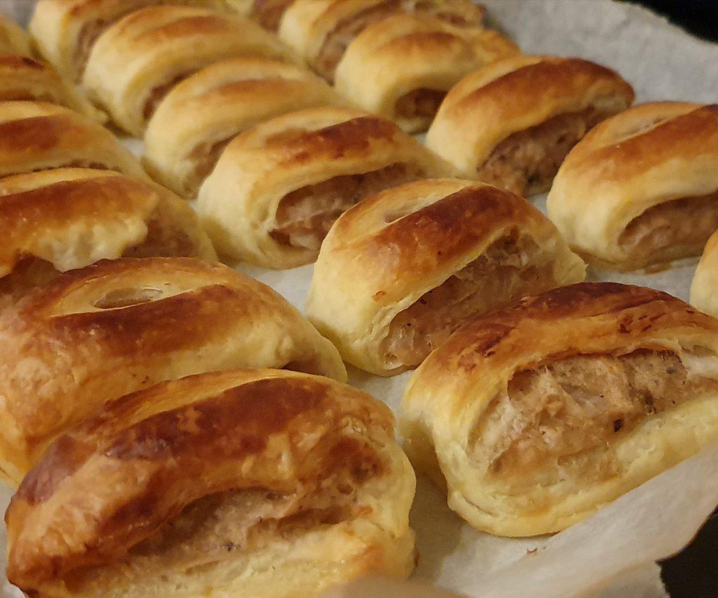 How to make vegan sausage rolls
