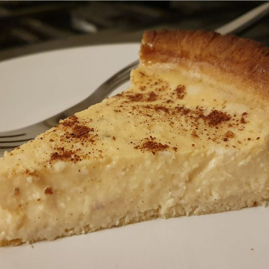 How to make vegan egg custard