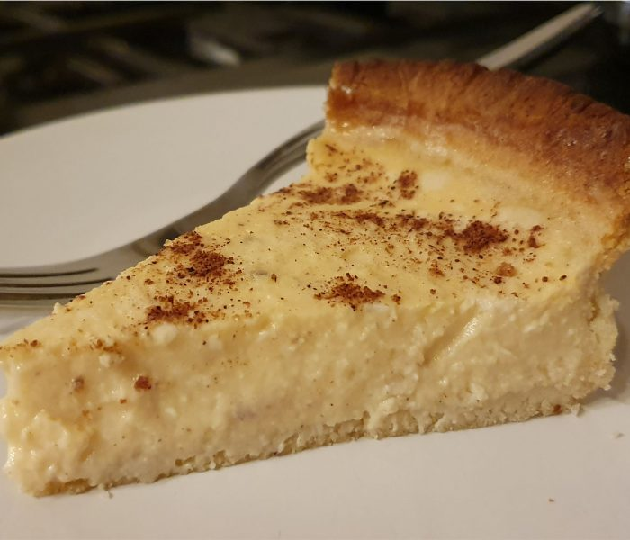 "Vegan ""Egg"" Custard Tart"