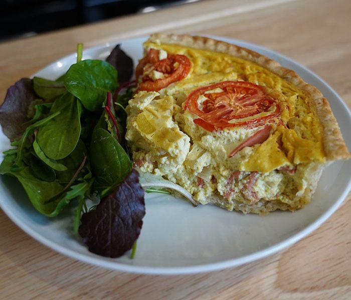 Vegan Egg Free Quiche