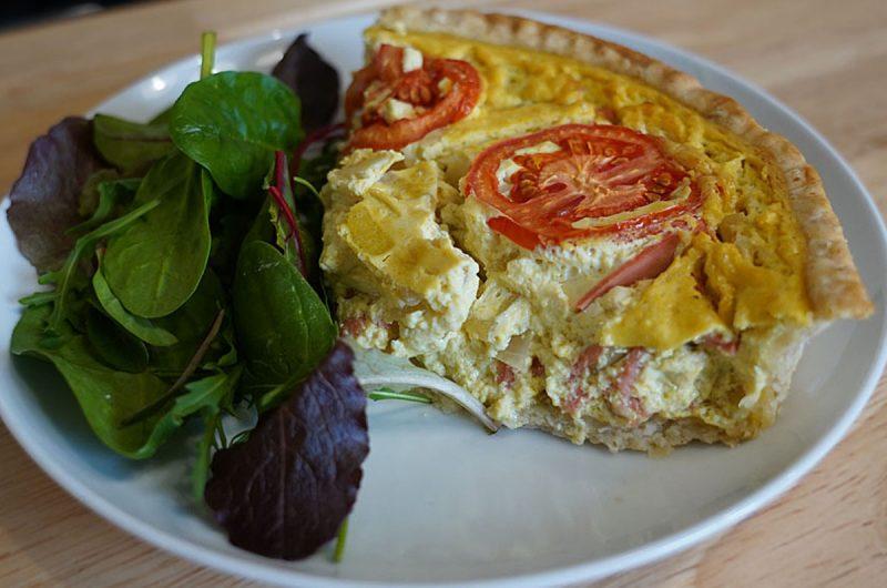 Egg Free Quiche
